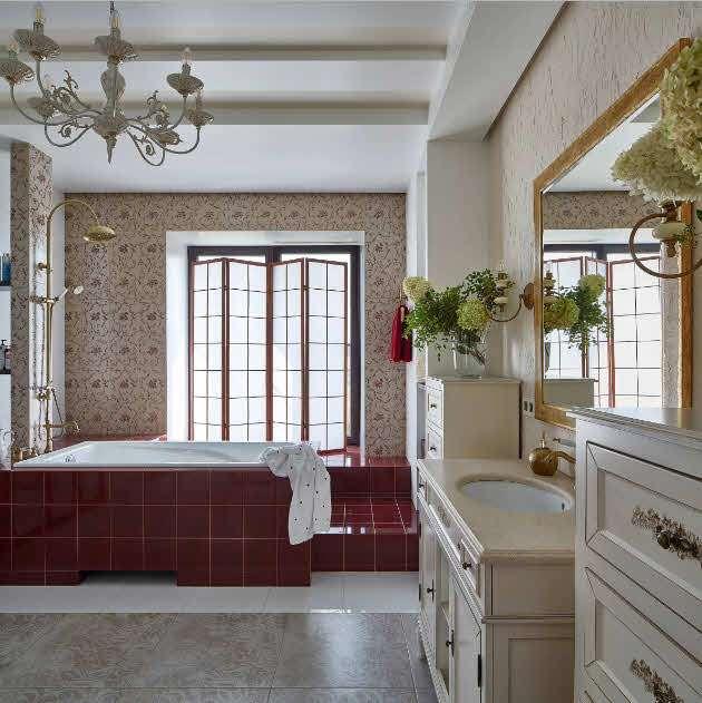 красно-белая-классика-в-ванной
